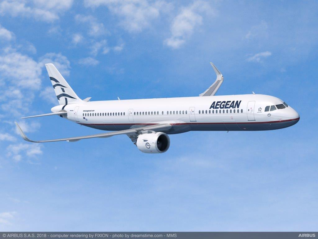 AEGEAN announces order of up to 42 new aircraft of the Α320neo